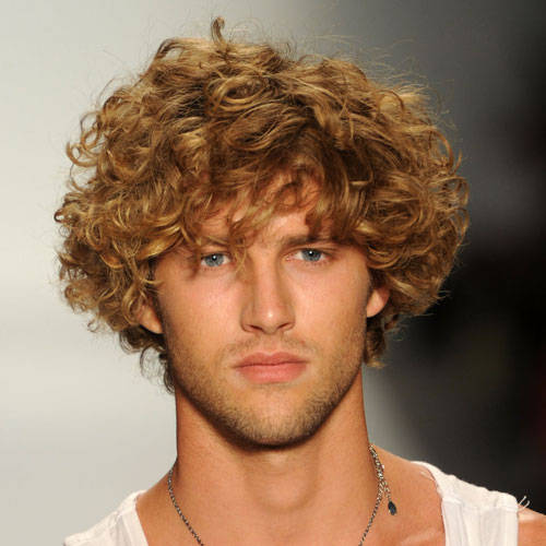 Phenomenal Short Curly Hairstyles For Men Curly Hair Images Hairstyles For Women Draintrainus